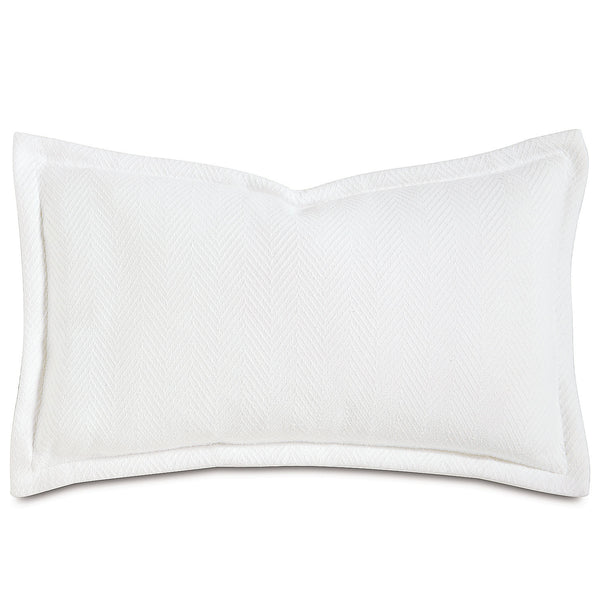 Wilke White Accent Pillow