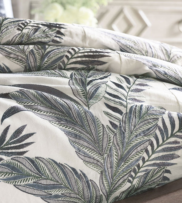 Montecito Embroidered Comforter