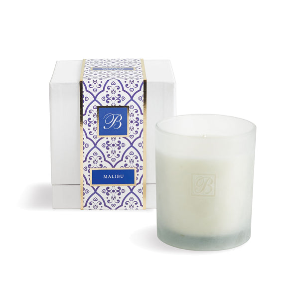 Soy Wax Candle Malibu design by shopbarclaybutera