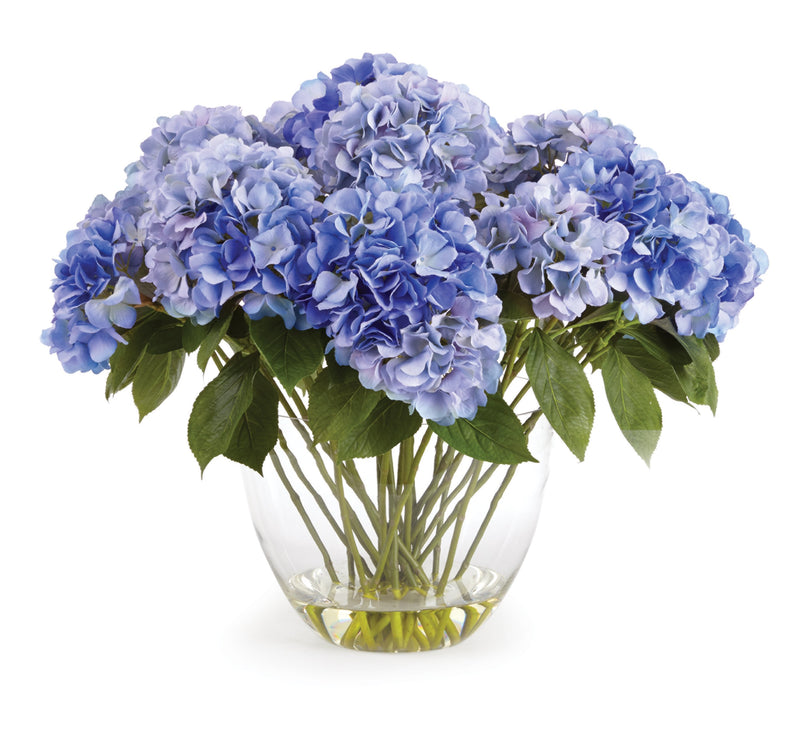 "Hydrangea 26.5"" Arrngmnt In Vase design by shopbarclaybutera"