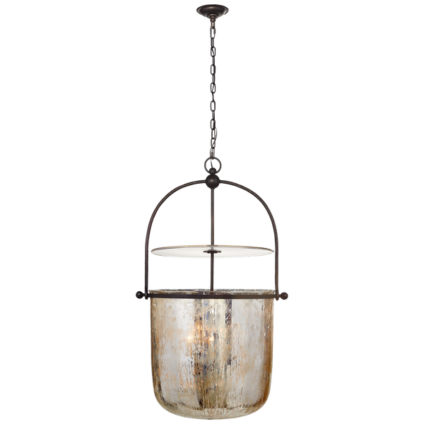 Lorford Large Smoke Bell Lantern by Chapman & Myers