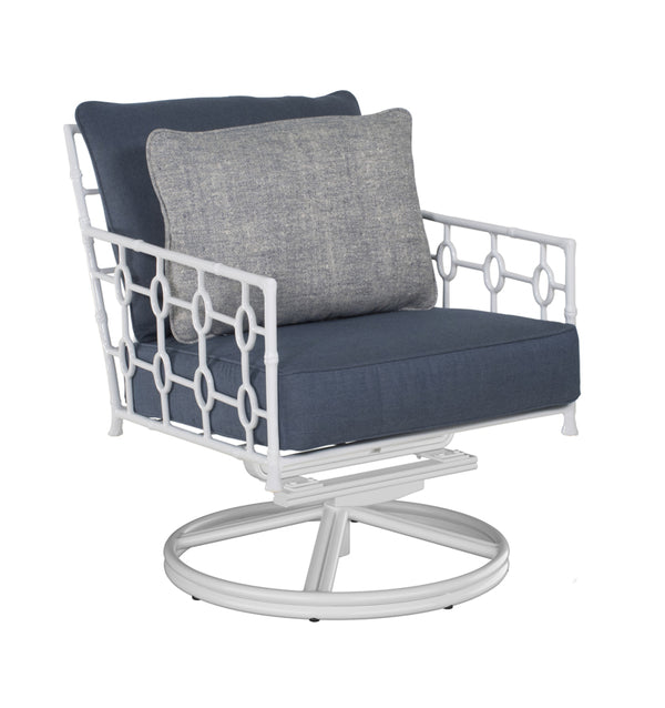 Cushioned Lounge Swivel Rocker