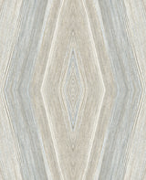 Crosscut Warm Serenity Wallcovering from the Living in Style Collection
