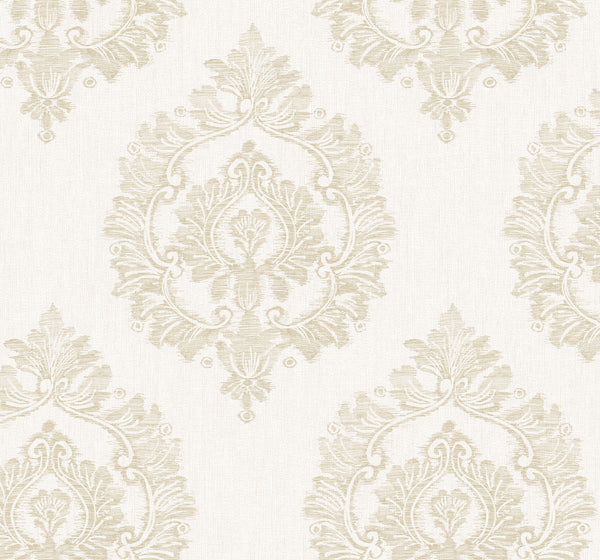 Damascus Khaki Wallcovering