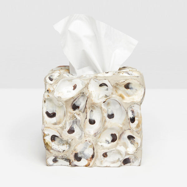 Enna Collection Bath Accessories, Natural Oyster Shell
