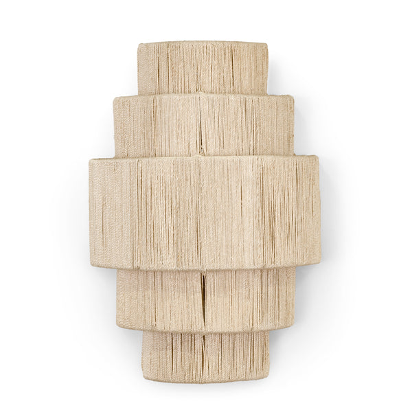 Everly 5 Tiered Sconce, Natural