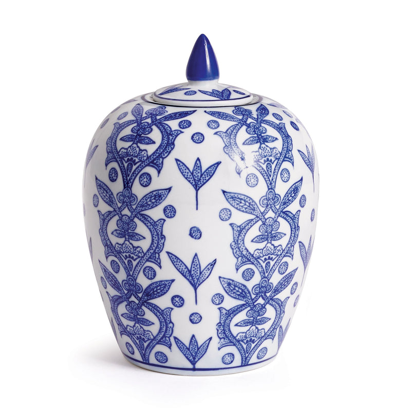 Dynasty Chinoiserie Lidded Jar design by shopbarclaybutera