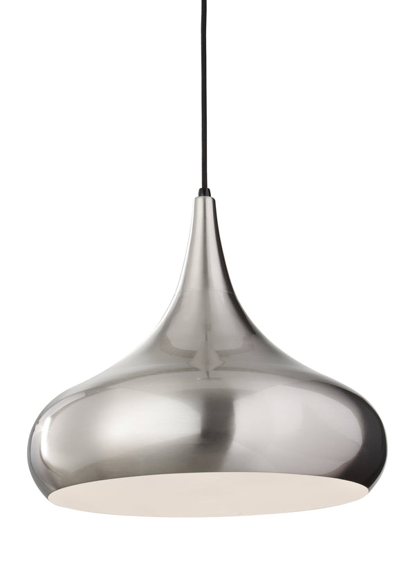Belle Collection 1-Light Chandelier by Feiss