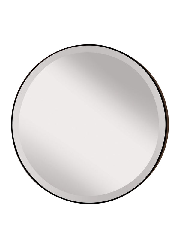 Johnson Round Mirror by Feiss