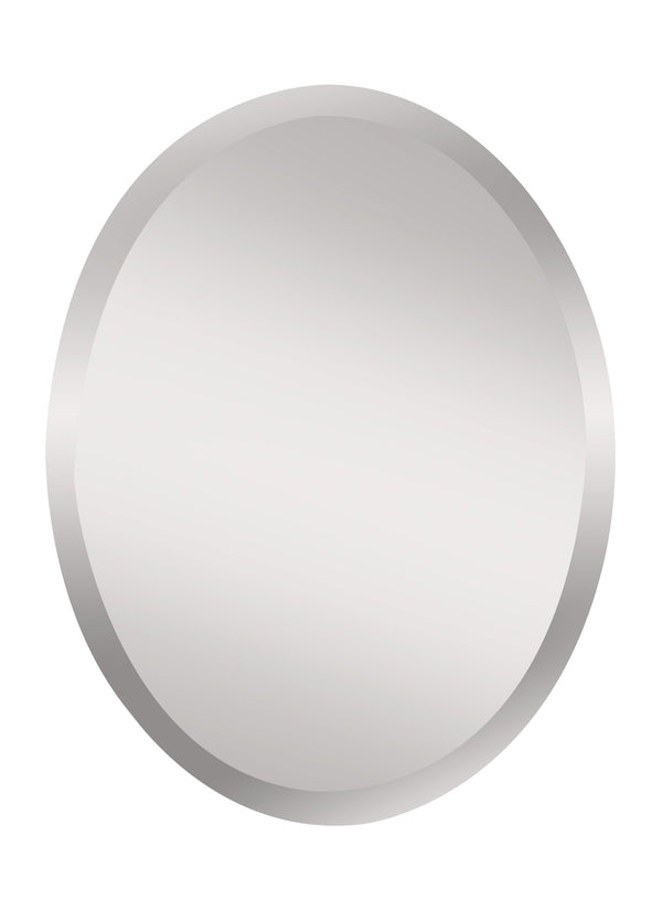 Infinity Small Oval Mirror by Feiss