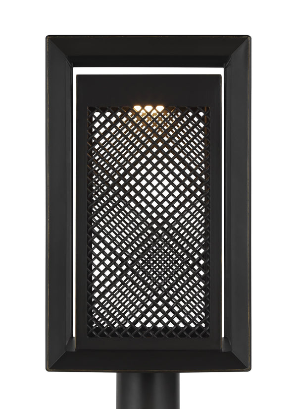 Milton Collection 1 - Light Outdoor Post Lantern