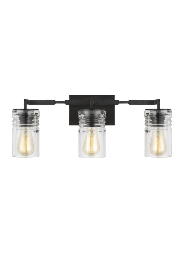 Ansley Collection 3 - Light Vanity by Feiss