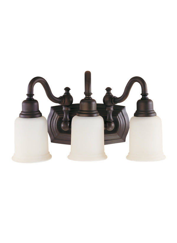 Canterbury Collection 3 - Light Vanity Fixture by Feiss