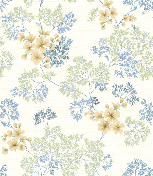 Flora Clear Skies Wallcovering