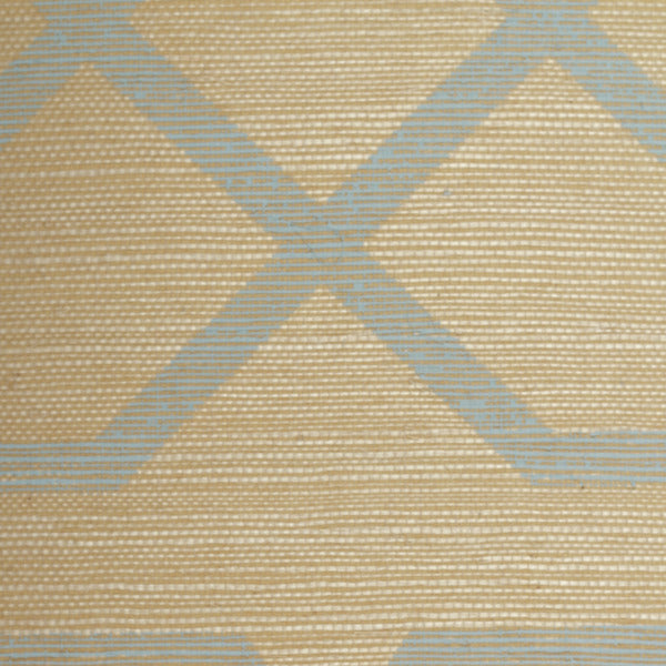 Geometric Grasscloth Wallcovering