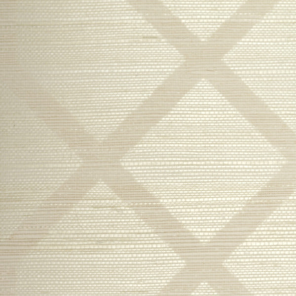 Sample Geometric Grasscloth Wallcovering
