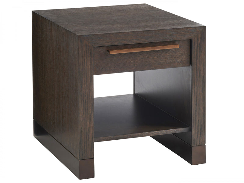 Heber Drawer End Table