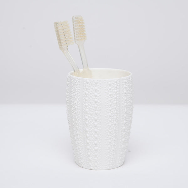 Hilo Collection Bath Accessories, White Porcelain