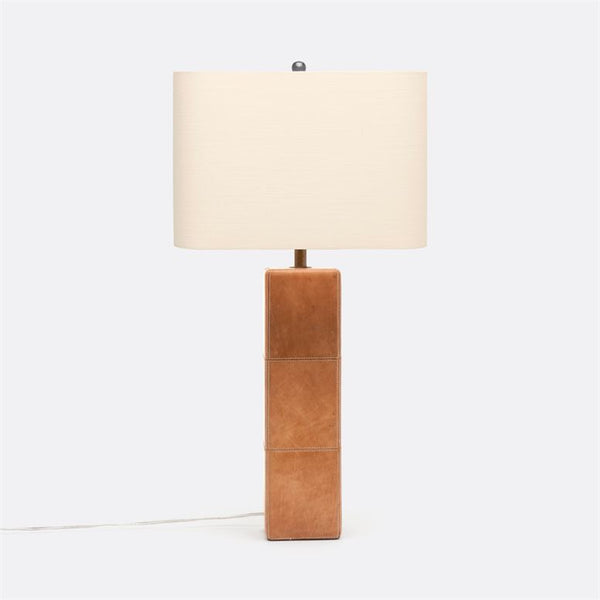 Jude Full-Grain Leather Lamp
