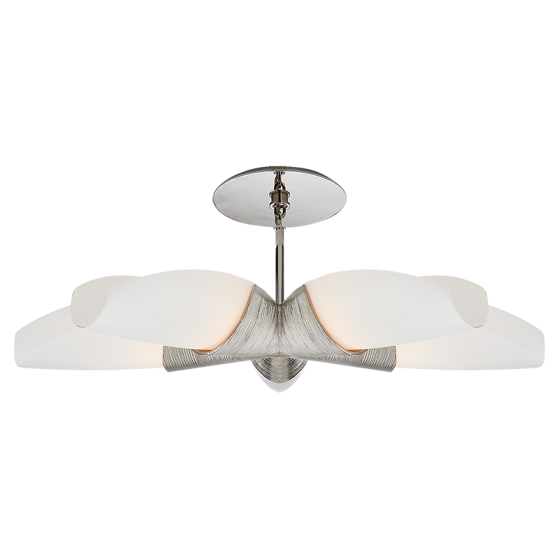 Utopia Medium 5 Arm Chandelier by Kelly Wearstler