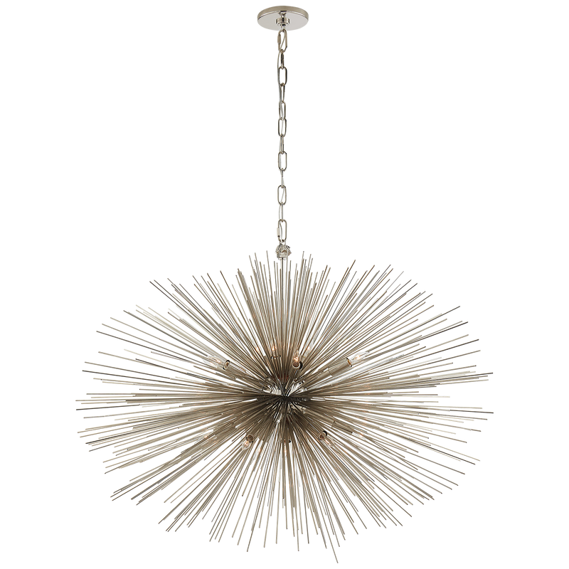 Strada Medium Oval Chandelier by Kelly Wearstler