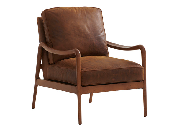 Leblanc Leather Chair by shopbarclaybutera