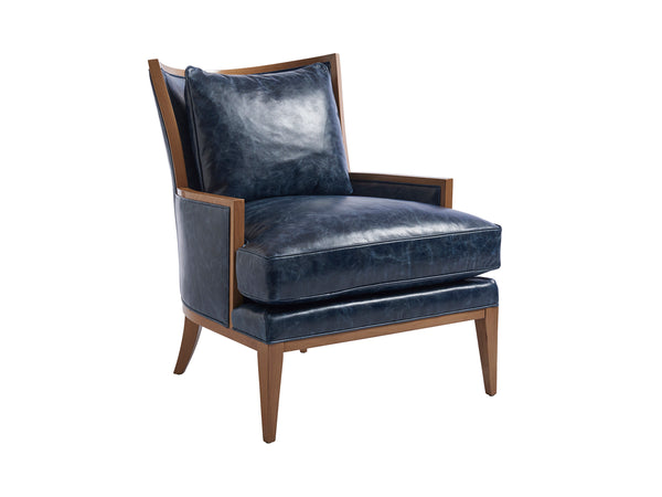 Blake Leather Occoasional Chair by shopbarclaybutera