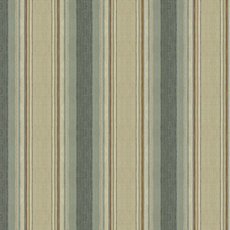 Sample Laxmi Stripe Fabric in Heron