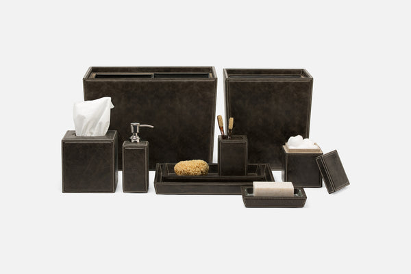 Lorient Collection Bath Accessories, Charcoal