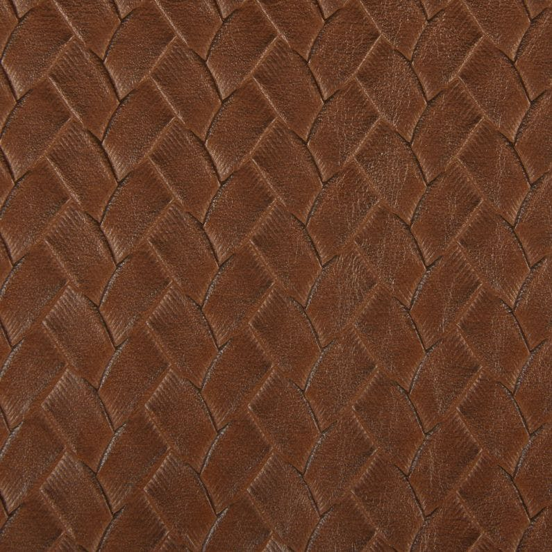 Sample Milling Fabric in Chestnut