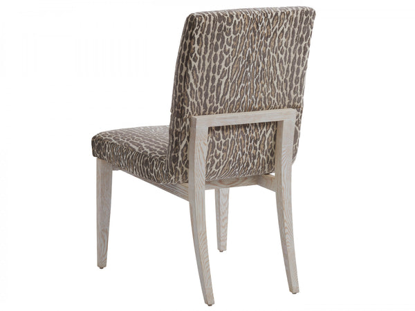 Palmero Upholstered Side Chair, Custom Fabric