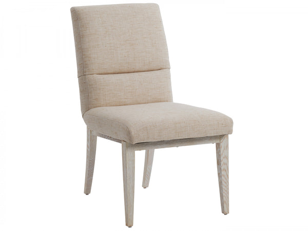Palmero Upholstered Side Chair in Winter Wheat