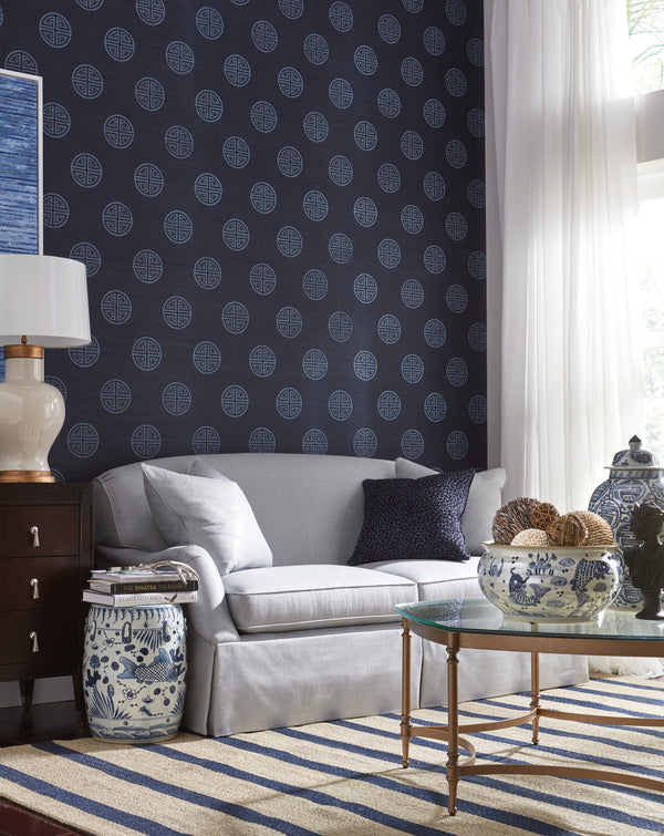 Realm Grasscloth Wallcovering