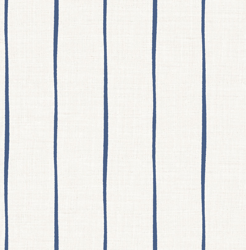 Sample Ribbon Indigo Wallcovering