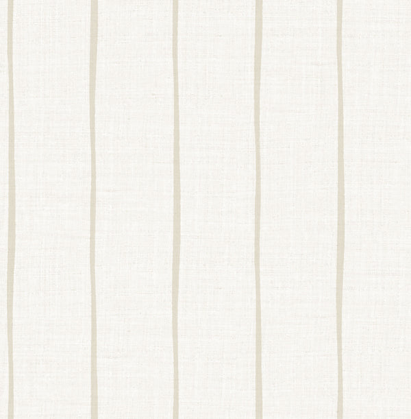 Ribbon Khaki Wallcovering