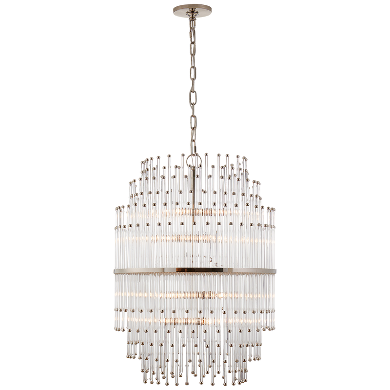 Mia Medium Barrel Chandelier by John Rosselli