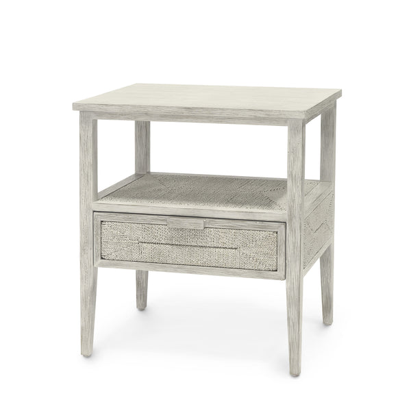 Santa Barbara Nightstand, White Sand