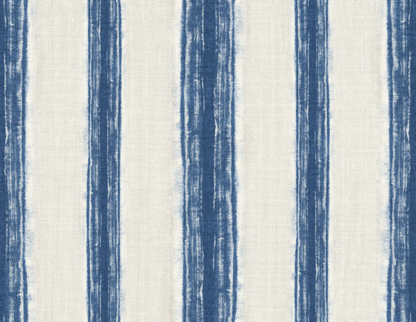 Silkscreen Indigo Wallcovering
