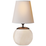Terri Round Accent Lamp by Thomas O'Brien