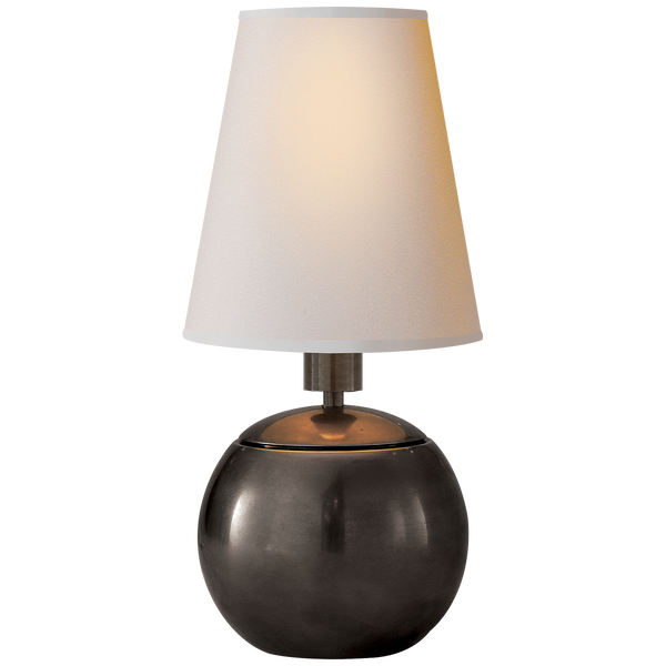 Tiny Terri Round Accent Lamp by Thomas O'Brien
