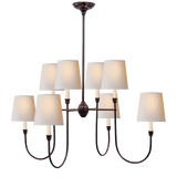Vendome Large Chandelier by Thomas O'Brien