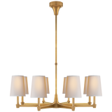 Caron Large Chandelier by Thomas O'Brien