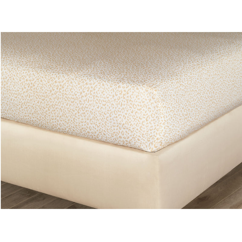 Tanner Sand Fitted Sheet