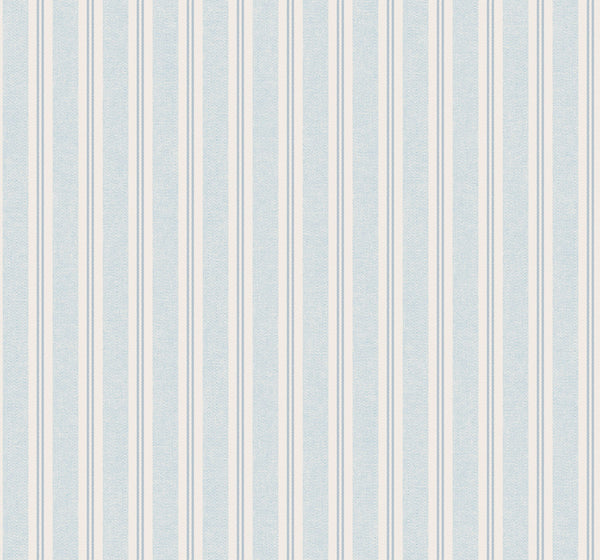 Ticking Stripe Serenity Wallcovering