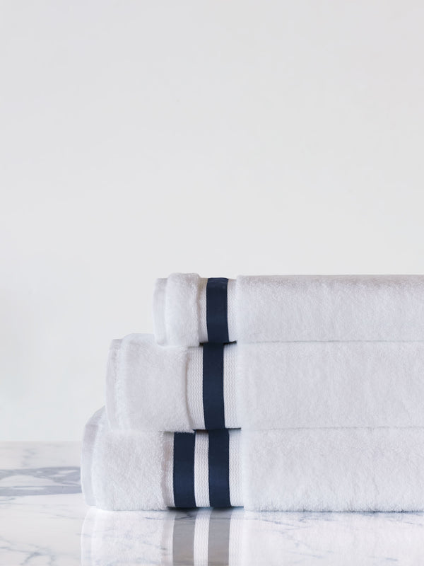 Watermill Indigo Bath Towel