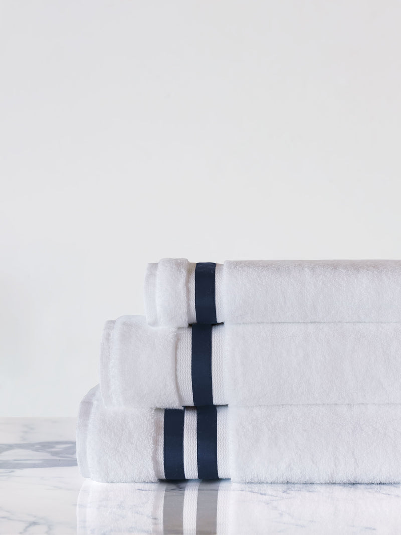 Watermill Indigo Towel Set