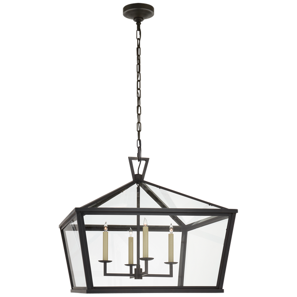 Darlana Medium Wide Hanging Lantern by Chapman & Myers