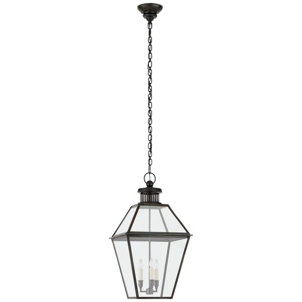 Stratford Medium Hanging Lantern by Chapman & Myers