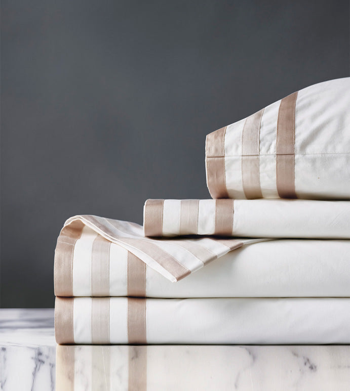 Watermill Taupe Sheet Set