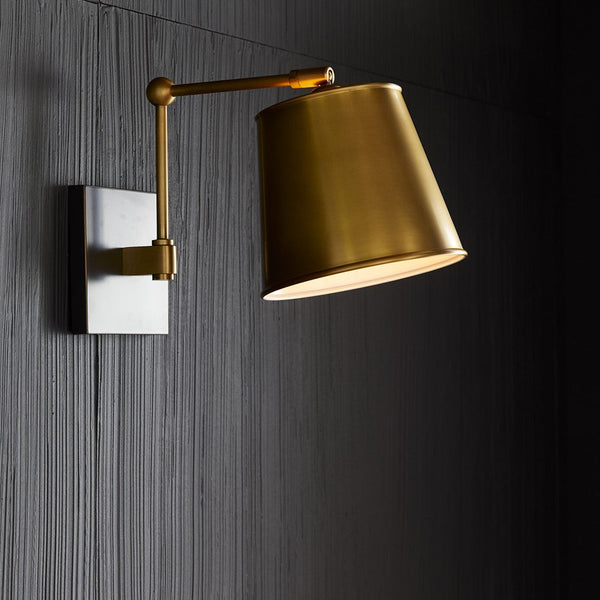 Watson Sconce, Antique Brass